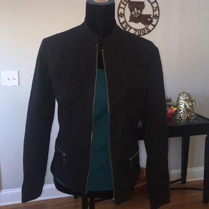 Chico's Black Jacket Size 1 fits Like a Medium